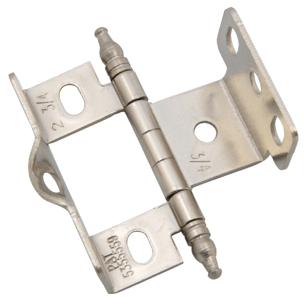 Exceptionnel 0006, Amerock Full Wrap Hinge   Brass Amerock Full Wrap Cabinet Hinge   20mm