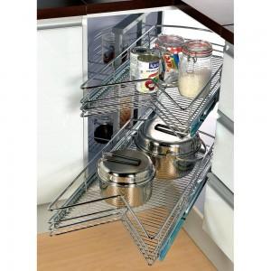 Rotating Corner Unit 900mm Multifunction