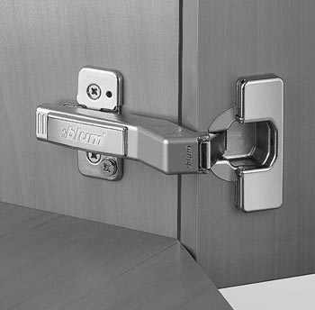 Blum 45 Angled Clip Top Hinge, Angled Kitchen Cabinet Hinges