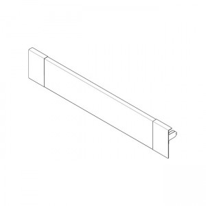 blum antaro intivo m height inner drawer front to suit 300mm unit silk white e38 front