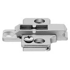 Blum Two Part Height Adjustable Backplates