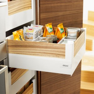 Intivo D-Height Pan Drawers