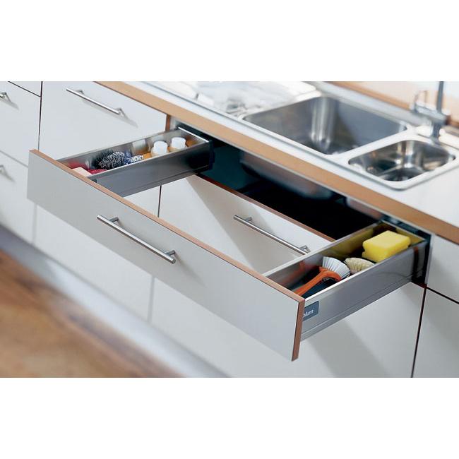 Blum Antaro Tandembox Sink Drawer M Height 450mm Silk