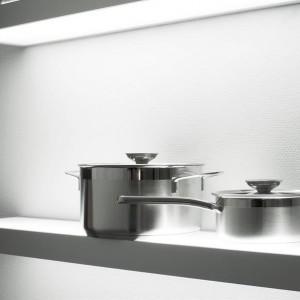 Arc LED Glass Box Shelf