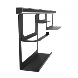 Midway Hanging Rail System Black