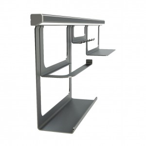 Midway Hanging Rail System Silver