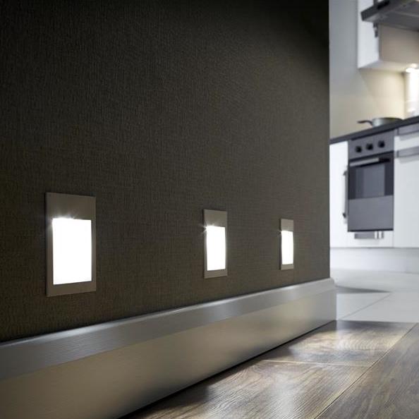 senza led plinth lights cool white kitchen fittings online. Black Bedroom Furniture Sets. Home Design Ideas