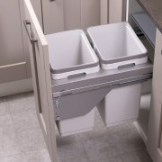 Ace Pull out waste bin to suit 400mm cabinet 2 x 20L