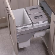 Ace Pull out waste bin to suit 450mm cabinet 1 x 30L 1 x 10L 1 x 9L