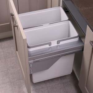 Ace Pull out waste bin to suit 600mm cabinet 2 x 36L